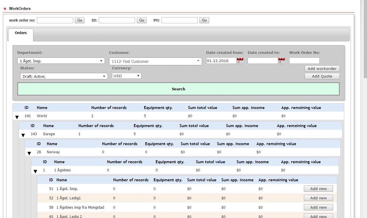 erp software for oil and gas development screenshot 4
