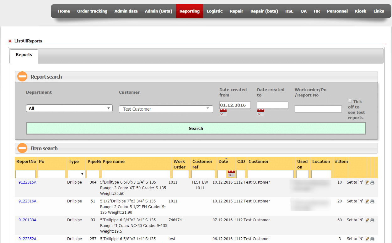 erp software for oil and gas development screenshot 3