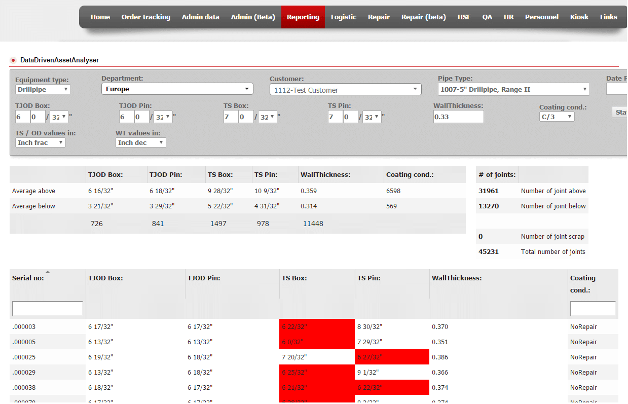 erp software for oil and gas development screenshot 1