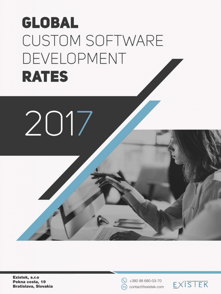software development rates