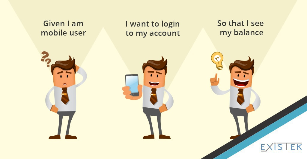 User acceptance criteria illustration