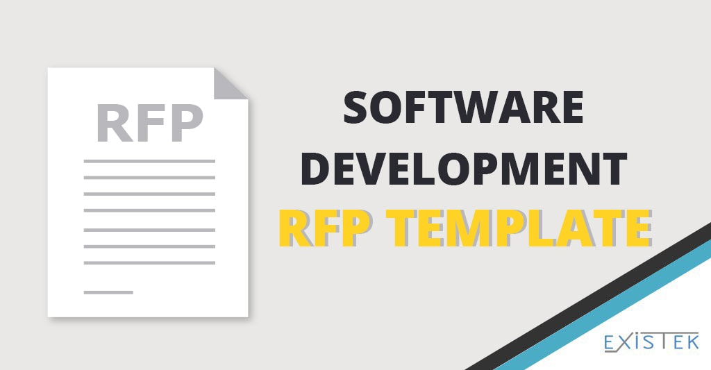 Software Rfp Template For Development Projects Existek Blog