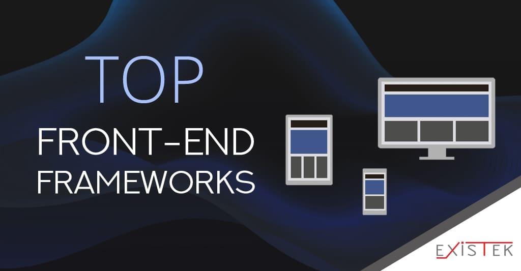 top front-end frameworks in 2020