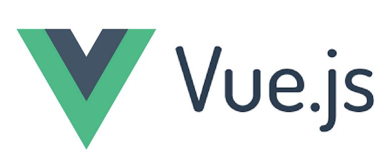 vue.js logo as the top web development framework in 2018-1019