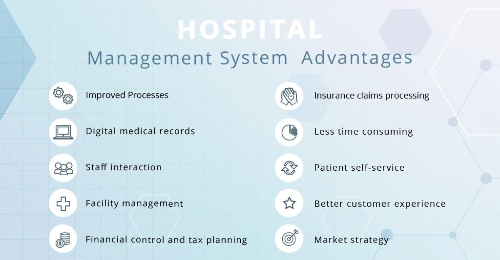 Hospital management system advantages illustration