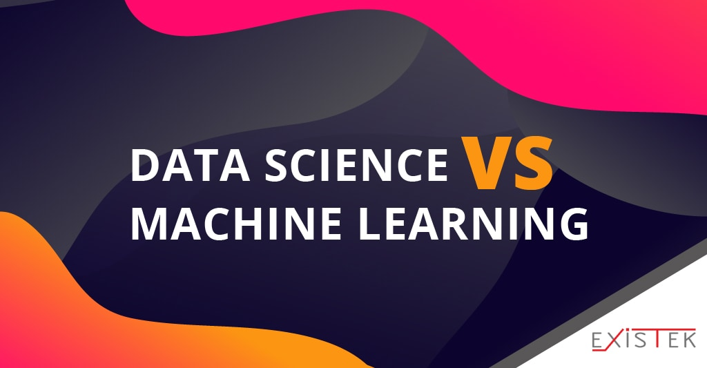 data science vs machine learning post hearer image