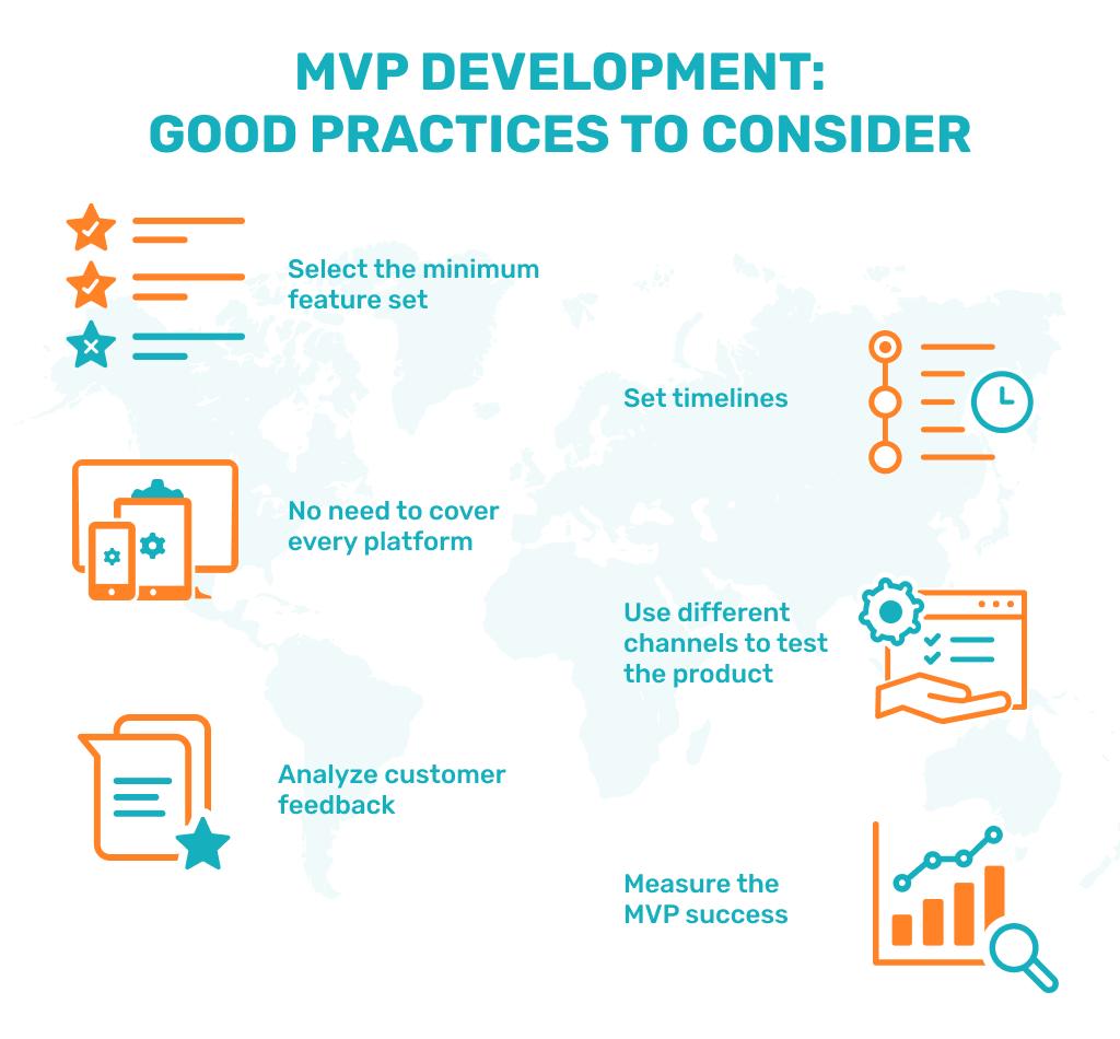 Minimum viable product: good practices