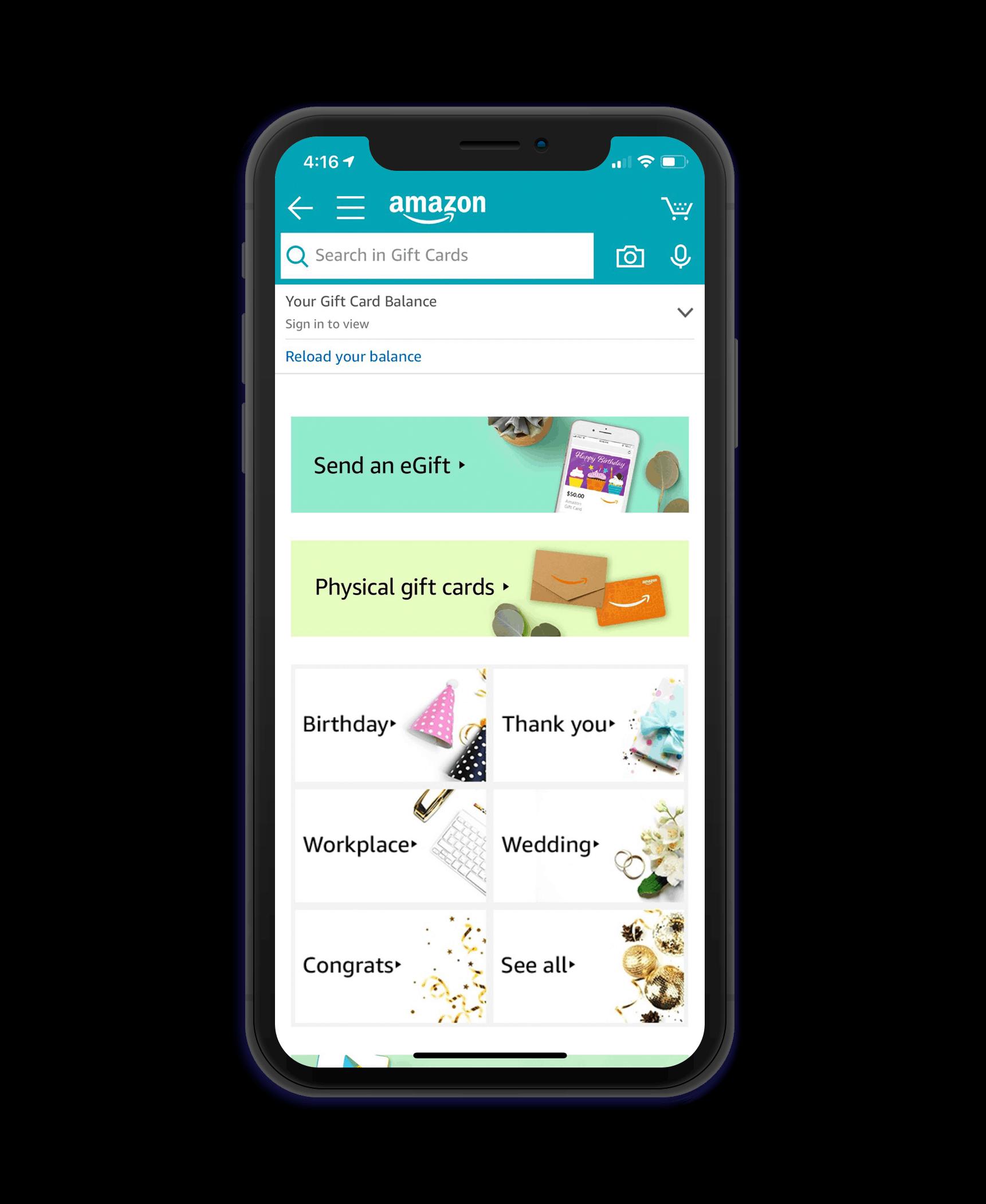 eCommerce mobile app development features