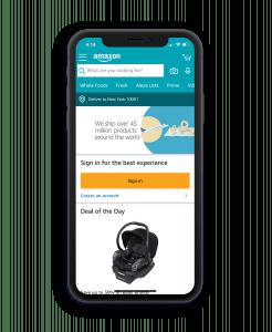 eCommerce mobile application development