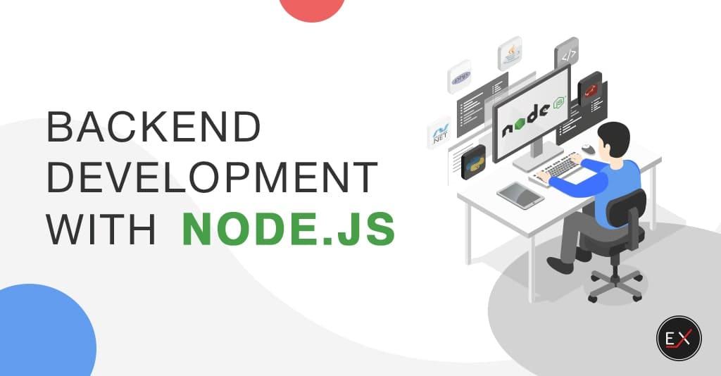 Backend development with Node.js