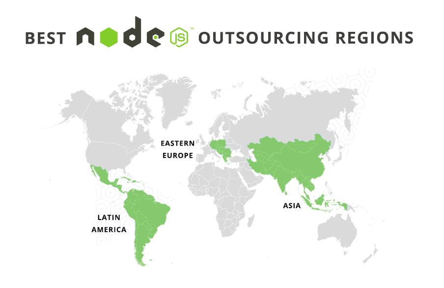 Node.js outsourcing destinations