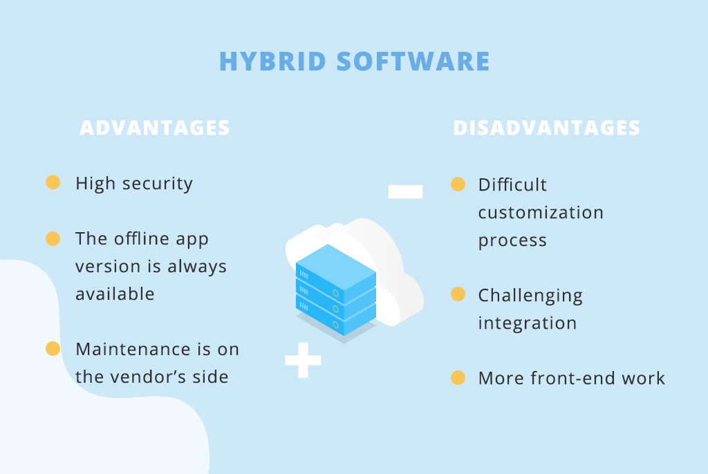 Hybrid software pros and cons