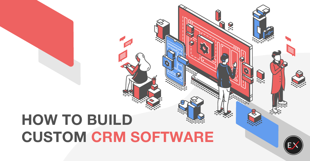 How to build custom CRM software - article cover