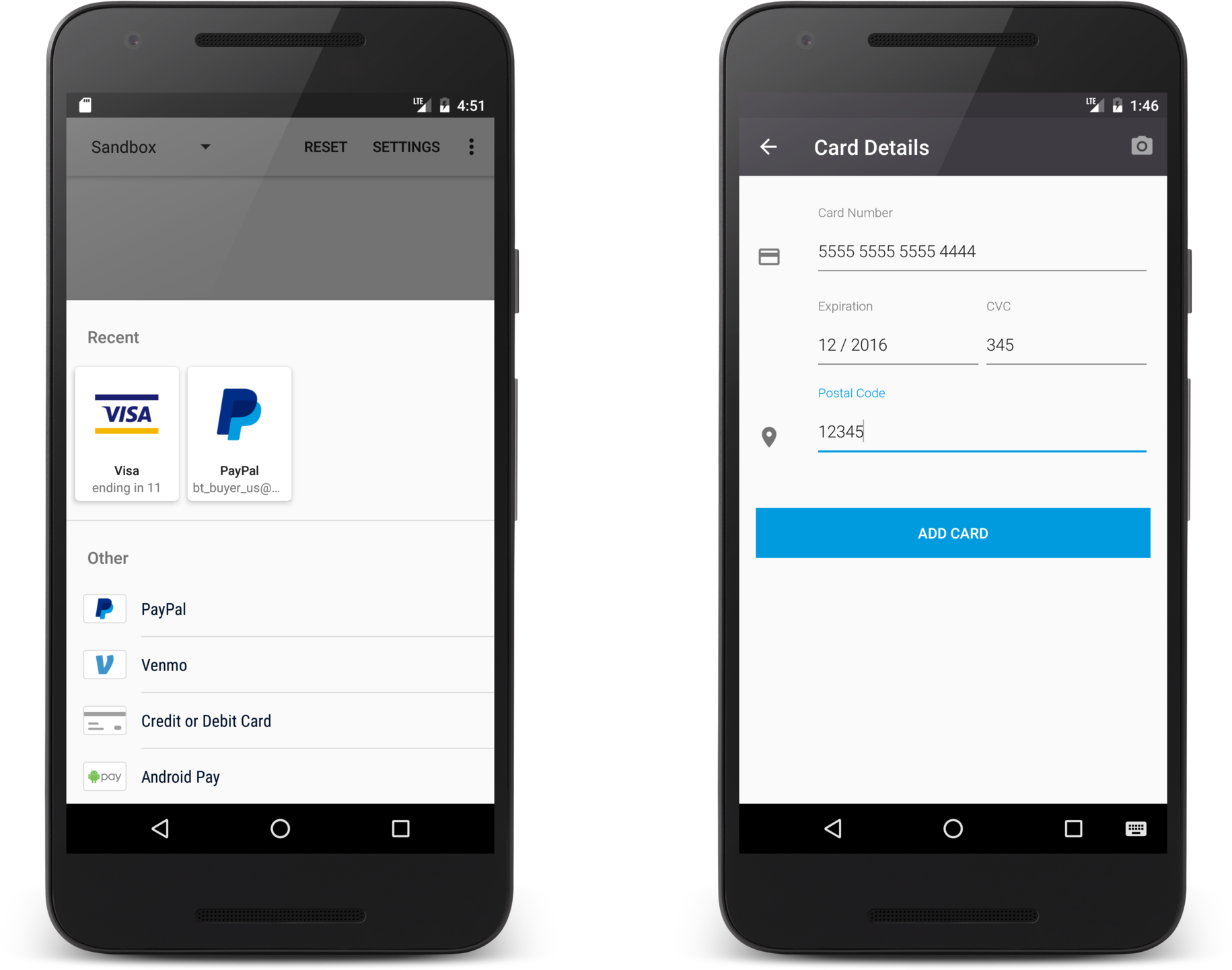 How to add a payment gateway in Android apps