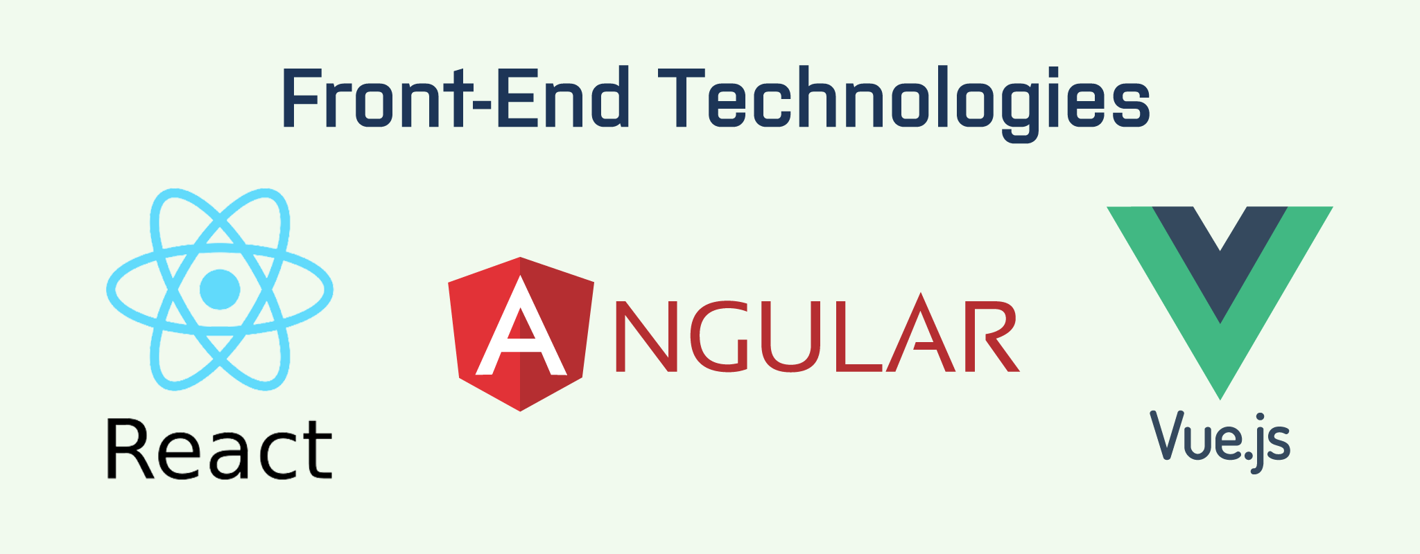 Front-end technologies