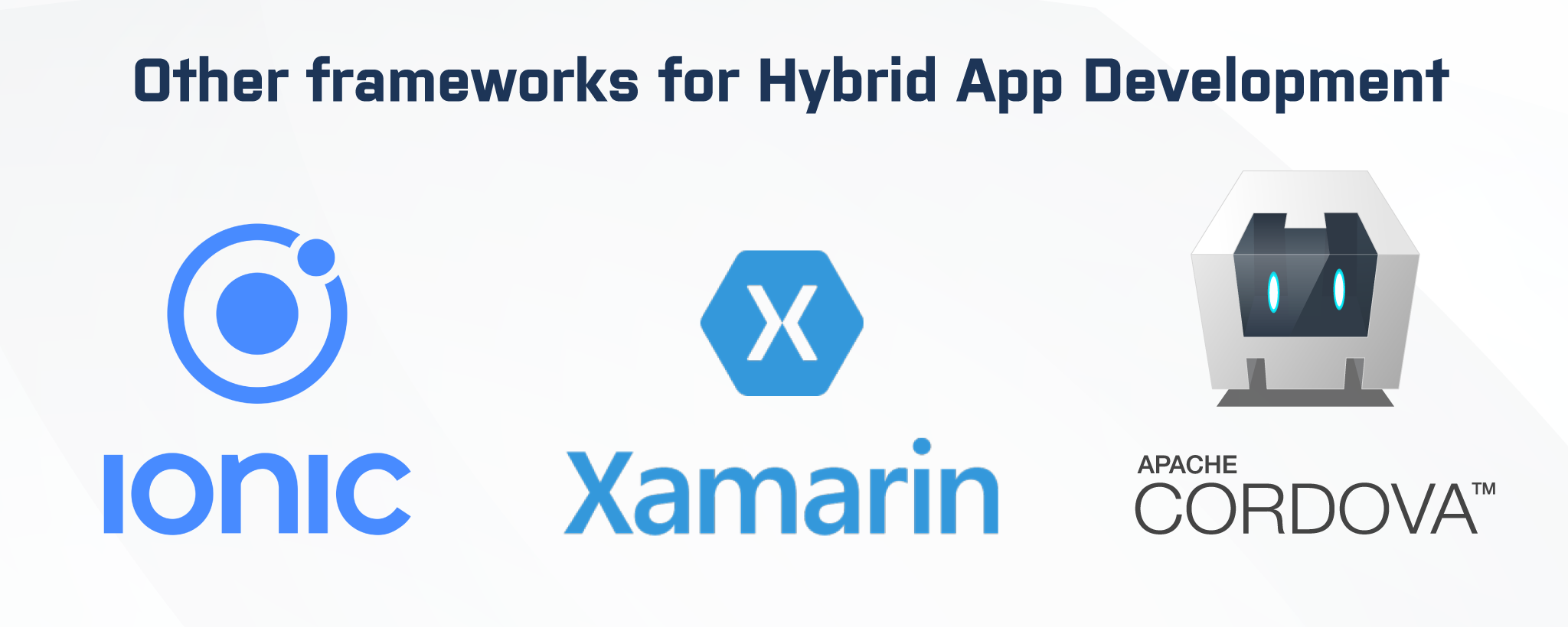 best hybrid app framework in 2020