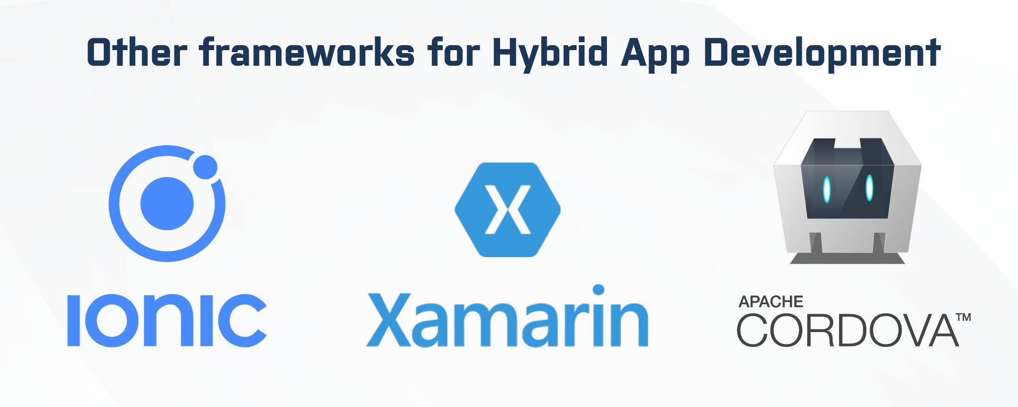 best hybrid app framework in 2020