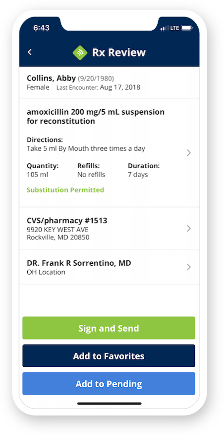iPrescribe - e-prescription app