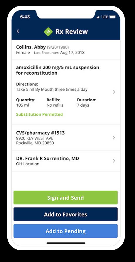 iPrescribe - e-prescription app