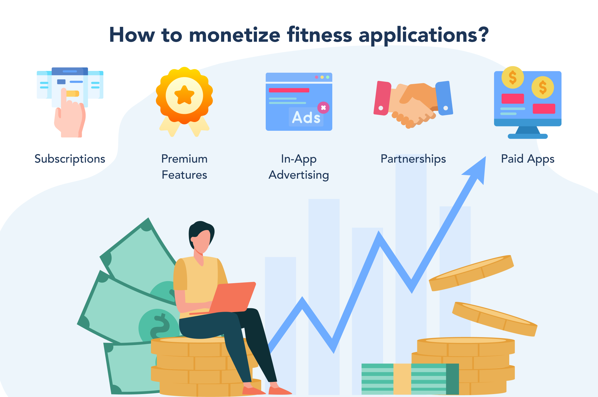 how to monetize a fitness app